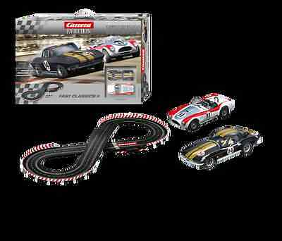 Carrera Evolution Fast Classic (II) Set 1964 Corvette & Shelby Cobra CAR-25215