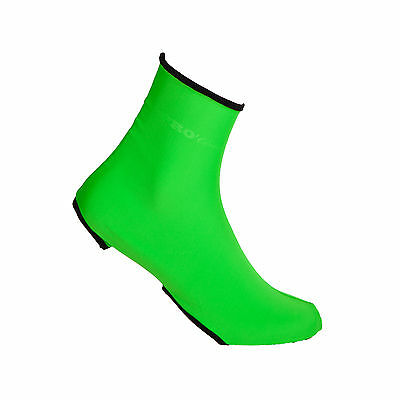 Copriscarpe Ciclismo Proline Verdefluo Cycling Covershoes Over Shoes Green Fl
