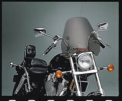 Slipstreamer S-06 Spitfire Windscreen 1 Inch Smoke Cruiser Motorcycle