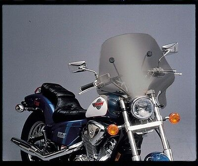 Slipstreamer SS-24V Hellfire Windscreen Smoke Motorcycle Cruiser
