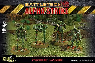BattleTech Pursuit Lance Pack (4 Modelle) | EN
