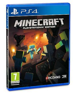 Minecraft PS4 Factory Sealed UK Pal Stock Fast Shipping
