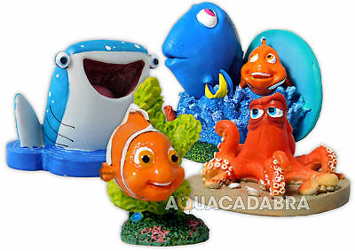 Finding Dory Aquarium Ornaments Nemo Disney Hank Destiny Fish Tank Decoration
