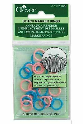 Clover Stitch Ring Markers