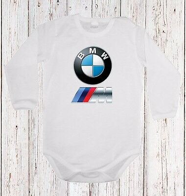 Baby Body Bmw M Power Logo  Car Langarm/kurzarm White