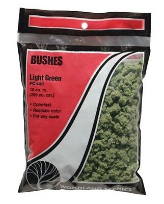 Woodland Scenics Bushes Clump Foliage Light Green FC145