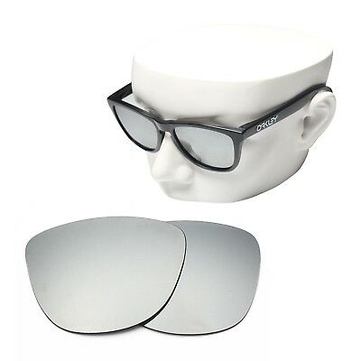 Replacement Sunglass Lenses  silver chrome mirror polarized replacement lenses for oakley