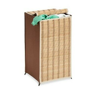 Honey-Can-Do Hmp-01619 Tall Wicker Hamper New