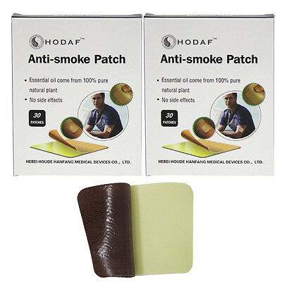 60 PCS STOP SMOKING PATCHES Quit Smoke NON No Nicotine Patches Health Care
