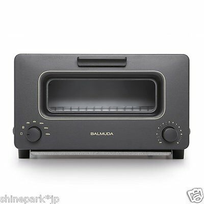 Barumyuda K01A-KG Black Steam Oven Toaster BALMUDA The Toaster Japan NEW!!