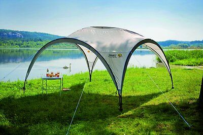 Coleman Event Shelter 15 x 15 Feet Camping Garden Patio Tunnel Dome Gazebo Tent