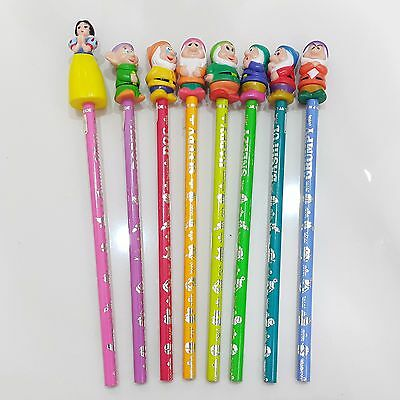 [VERY RARE]1980s Snow White and The Seven Dwarfs Pencils from Tokyo Disney Land