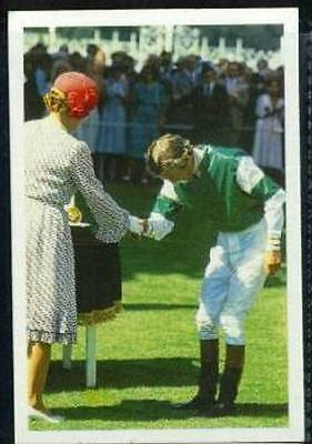 Scarce Trade Card of Lester Piggott Horse Racing 1986 A