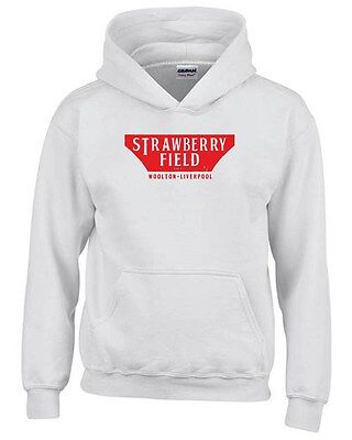 Felpa hoodie bambino WC0571 Strawberry Field