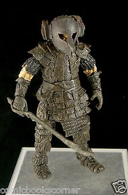 Lord of the Rings Trilogy 6'Scale ToyBiz FRODO IN ORC ARMOR 100% Complete ROTK