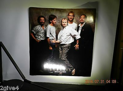Genesis Fan Club EXCLUSIVE  28 inch by 28 inch tour poster of the BAND
