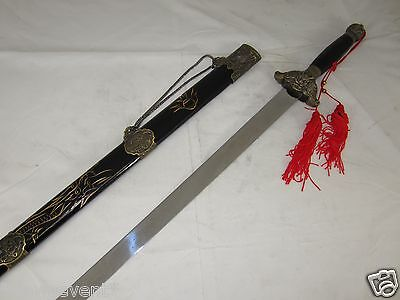 New Dragon Style Chinese Tai Chi sword [Machete/Dagger/Knife/Sword/Weapon] A183