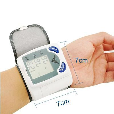 Wrist Cuff LCD Digital Blood Pressure Pulse Monitor High Quality Sale Super-Nice