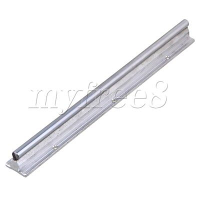 CNBTR L300mm 10mm Shaft Dia Linear Bearing Support Rail CNC Linear Motion