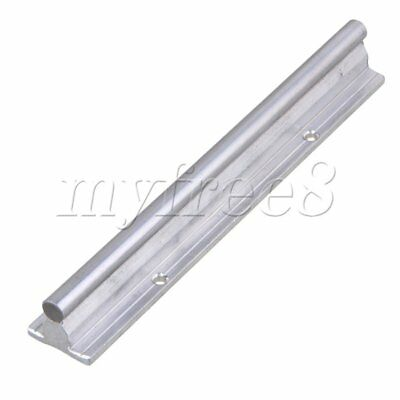 CNBTR L200mm 10mm Shaft Dia Linear Bearing Support Rail CNC Linear Motion