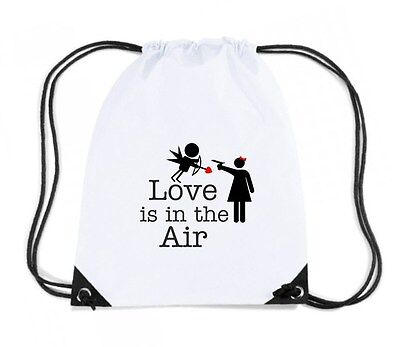 Zaino Zainetto Budget Gymsac  T0098 love is in the air