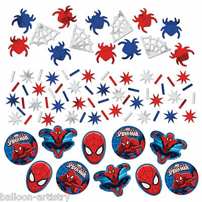 Marvel Ultimate Spider-Man Birthday Party Confetti Table Sprinkles Triple Pack
