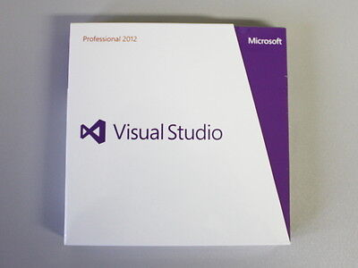 Visual Studio 2012 Professional Vollversion, deutsch, SKU: C5E-00880, Retail-Box