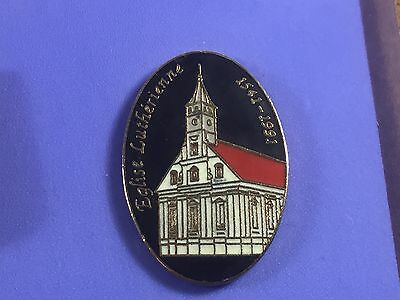 pins pin BADGE  france VILLE VILLAGE EGLISE LUTHERIENNE