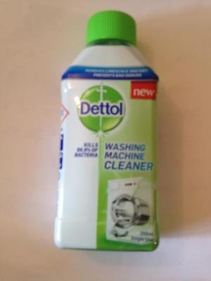 ** DETTOL WASHING MACHINE CLEANER REMOVES LIMESCALE & DIRT NEW ** 250ml