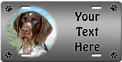 German Shorthaired Pointer Personalized License Plate