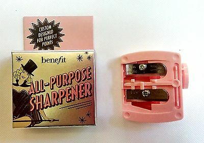 Benefit Dual All Purpose Pencil Sharpener NEW, BOXED & UNUSED