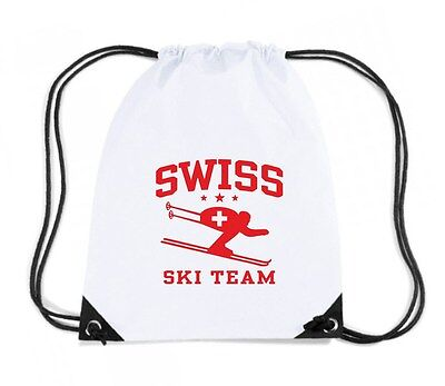 Zaino Zainetto Budget Gymsac  OLDENG00261 swiss ski team