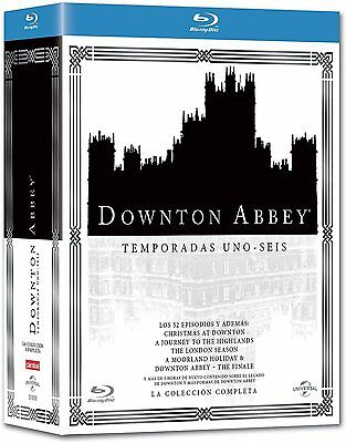 Pack Downton Abbey Blu Ray Español Temporada 1 2 3 4 5 6 Castellano Nuevo