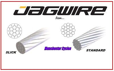New Jagwire Pro Slick Stainless Steel inner gear cables.Bike Bicycle derailleur