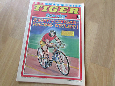 TIGER & Scorcher Comic ENGLAND Football Team Picture 20/08/77