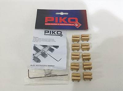 Brand New Piko G RailClamp, Over the Rail, 10 Pieces # 35294
