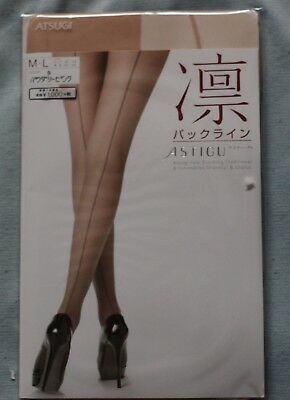 ATSUGI Pantyhose Back line new stocking Traditional & Innovative made in JAPAN