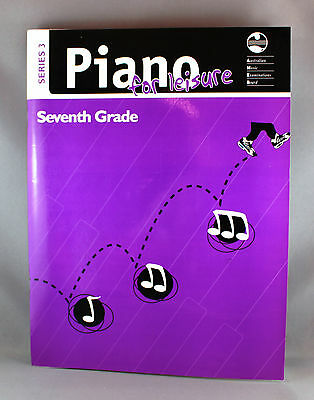 AMEB Piano For Leisure Series 3 Grade 7 - Brand New