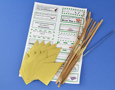 12 Gold Hats, Snaps & Jokes for Christmas Cracker Making Crafts