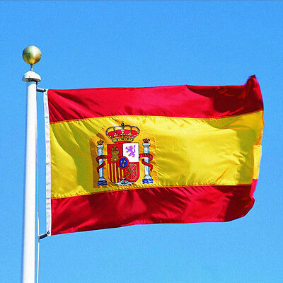 Fashion Spanish Flag Large 3'x5' Spanish Flag the Spain National Flag ESP GOCG