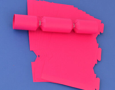 12 MINI Hot Pink Make & Fill Your Own Cracker Boards