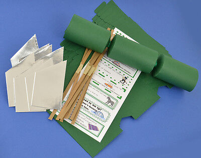 8 Green Make & Fill Your Own Cracker Making Craft Kit