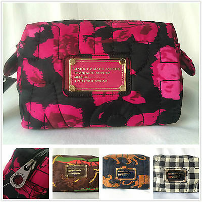 Hot Sale Marc By Marc Jacobs 4 Colors Nylon Casual Clutch Handbag Cosmetic Bag