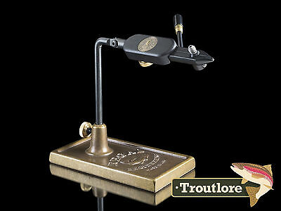 Regal Medallion Bronze Base Vise Traditional Jaws - Usa Made New Fly Tying Tool
