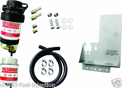 FUEL MANAGER Diesel Filter Kit FMHILUXDPK Toyota Hilux. 2 MICRON KIT
