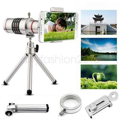 Manual Focus18x Optical Zoom Mobile Cell Phone Smartphone Telephoto Lens+ClipFM6