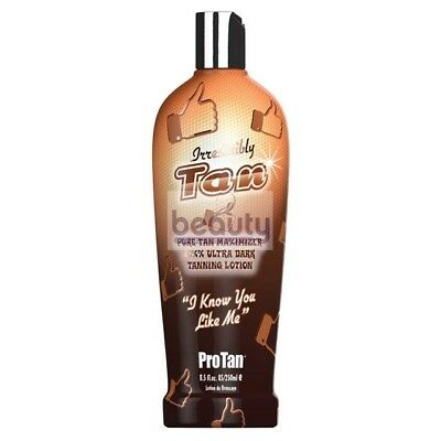 ProTan IRRESISTIBLY TAN Sunbed Tanning Accelerator Ultra Dark Lotion Cream 250ml