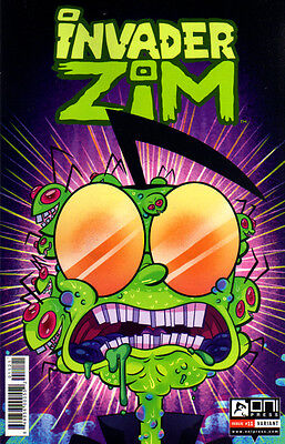 INVADER ZIM (2015) #11 Mady G VARIANT Cover