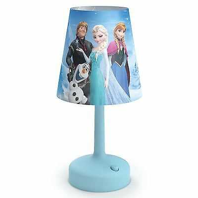 Disney Frozen Portable Table Lamp Kids Bedroom Lighting 100% Official Free P+P