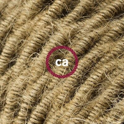 TN06 Solid Twisted Electric Cable covered by Jute fabric
